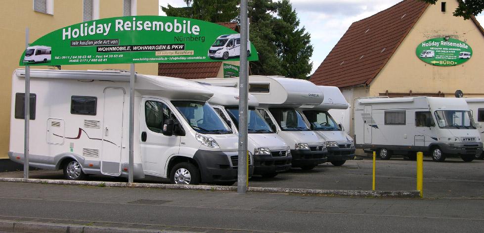 holiday reise mobile n rnberg wir kaufen verkaufen wohnmobile wohnwagen und pkw. Black Bedroom Furniture Sets. Home Design Ideas